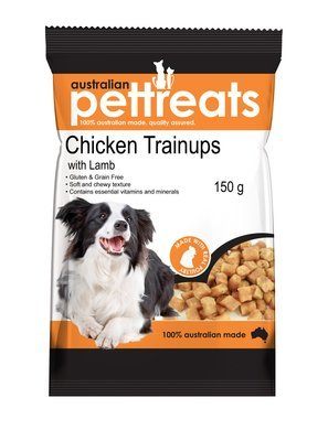 Chicken Trainups with Lamb Gluten and Grain Free
