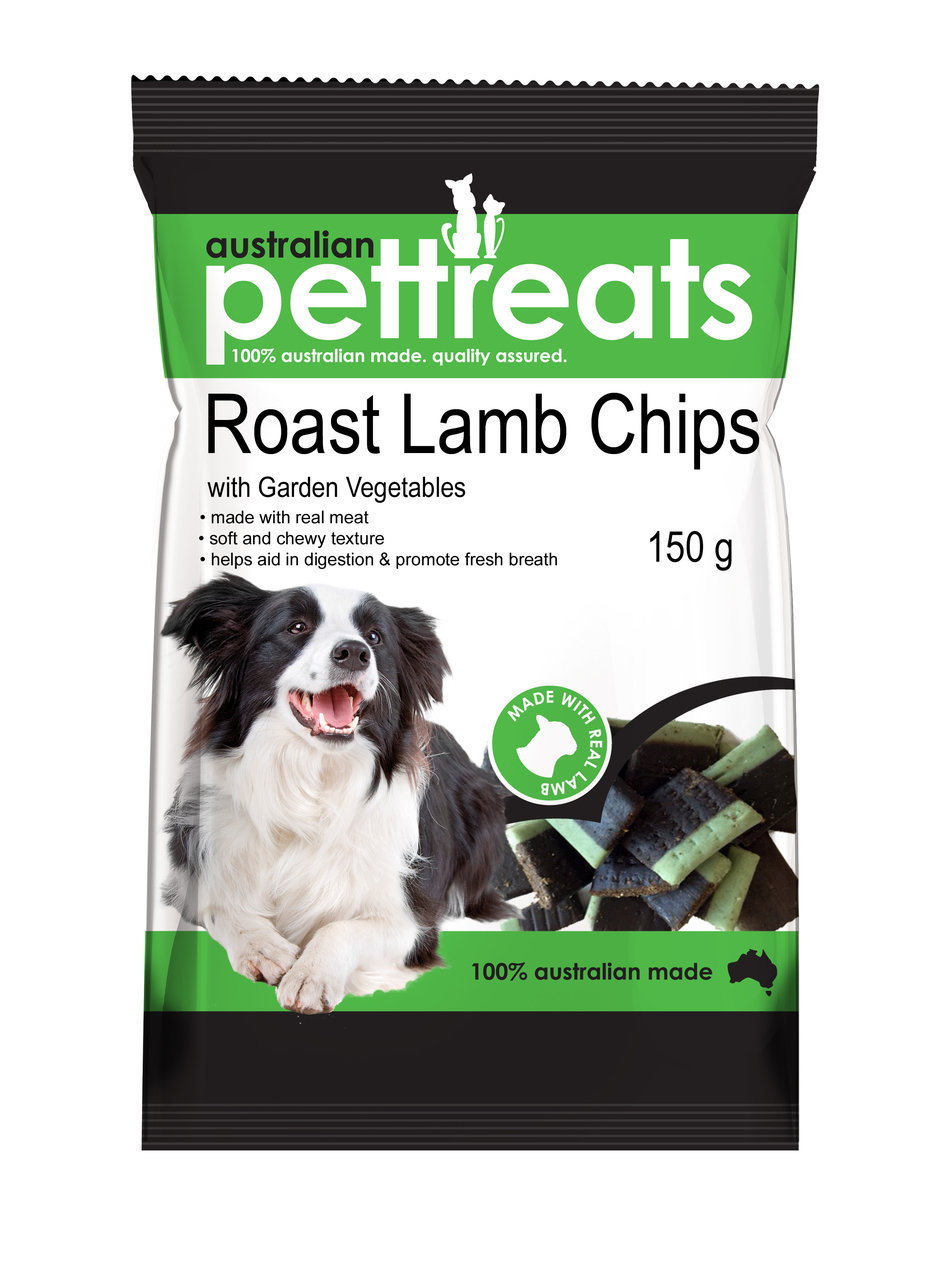 Roast Lamb Chips with Garden Vegetables
