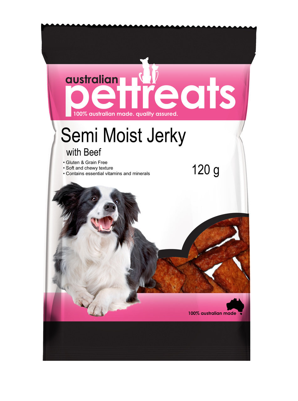 Semi Moist Grain Free Beef Jerky