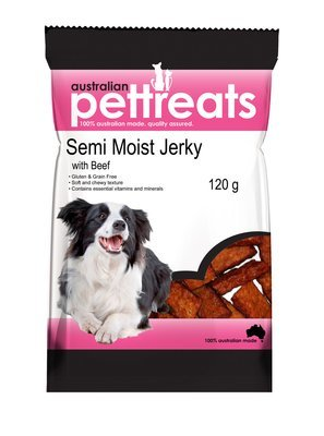 Semi Moist Grain Free Beef Jerky
