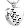 Pet Paw Memory Necklace 00075