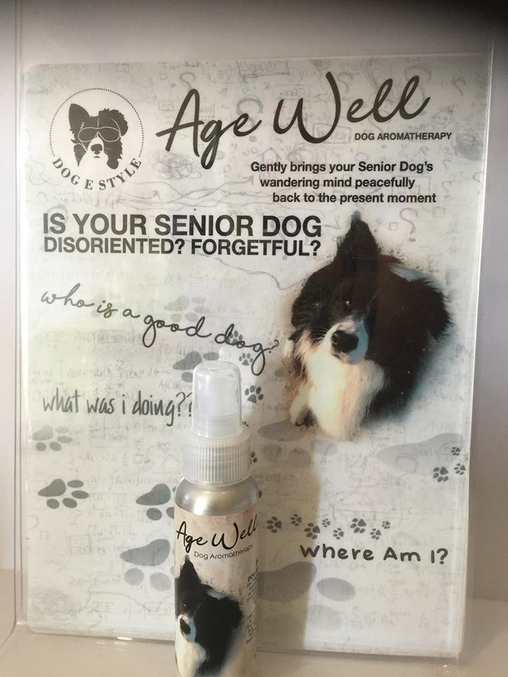 Age Well Aromatherapy Spray for Elderly Dogs