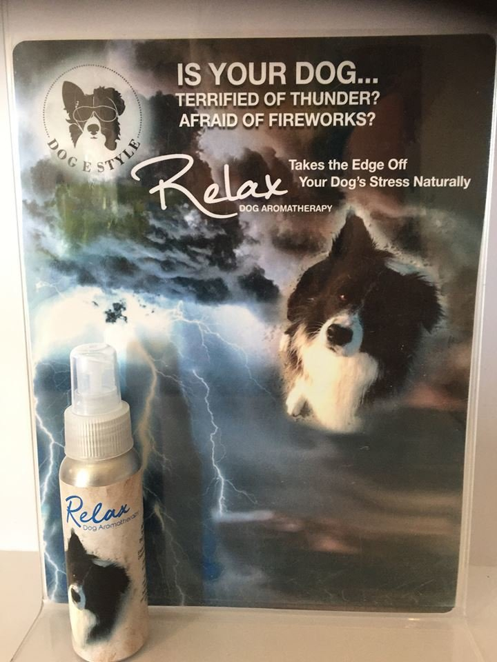 Relax Aromatherapy Spray for Anxious Pooches 00083