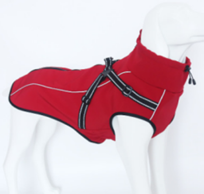 Red Harness Jacket