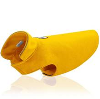 Dogie Winter Coat Paw Paw Yellow 00093