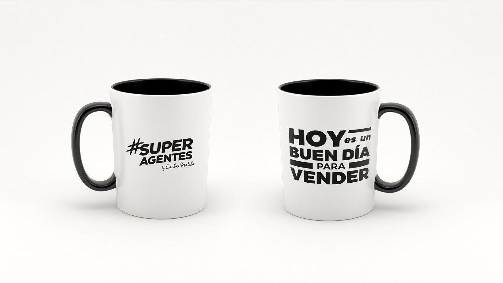 Taza de Café con Frases Motivadoras