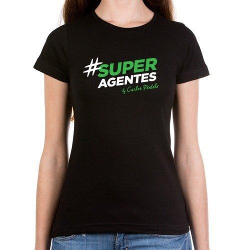 Camiseta Mujer #SUPERAGENTES