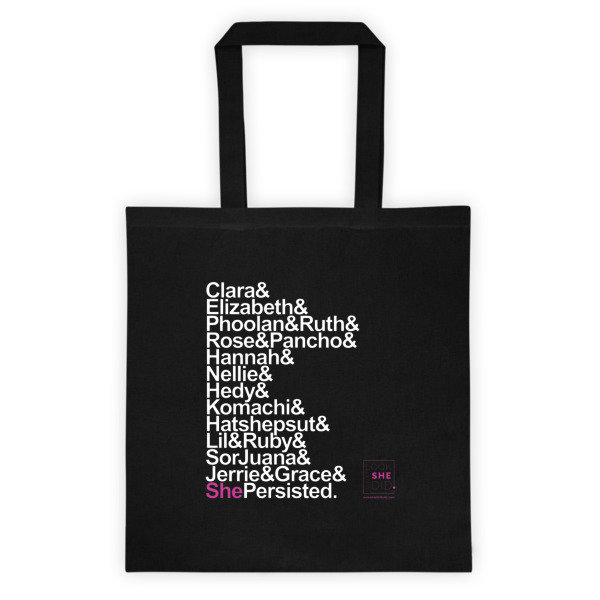 SHE Persisted Tote bag 00008