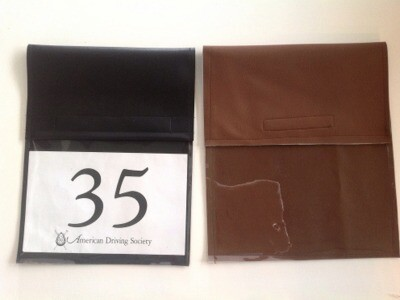 Number Holder: Leather