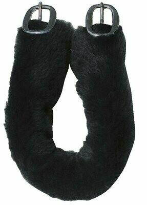Harness Pad: Fake Fur, Crupper Cover