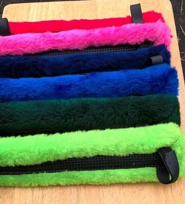 Harness Pad: Fake Fur- Saddle