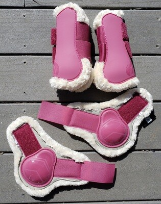 Galloping Boots Set- Pile Lined