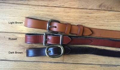 Driving Reins : Leather w/Other grip
