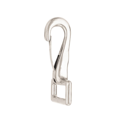 Snap with Spring - Stainless Steel