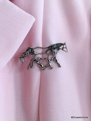 Mare and Foal Pin