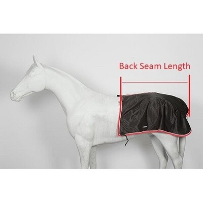 Quarter Sheet for Driving  - Horse and Warmblood Size