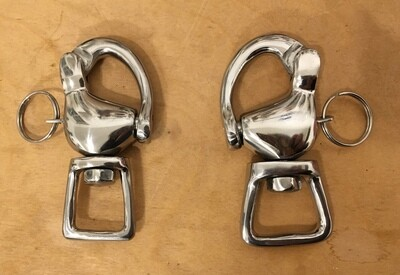 Quick Release Snap Shackle : Breeching