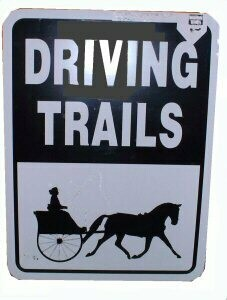 Driving Farm and Trail Signs 9