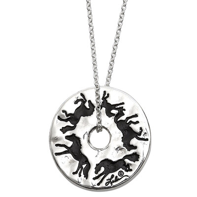 Galloping Around Pendant