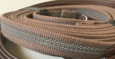 Driving Reins - Leather w/Other grip
