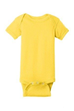 Rabbit Skins™ Infant Short Sleeve Baby Rib Bodysuit
