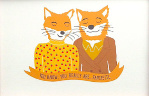 Fantastic Mr. Fox Card