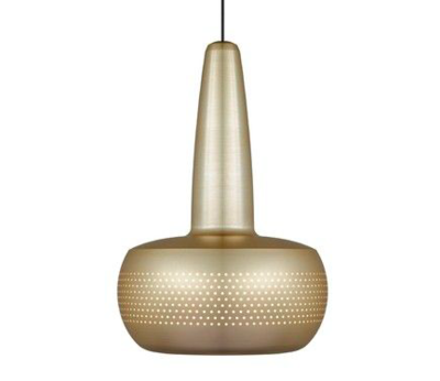 Clava Brushed Brass Hanging Light