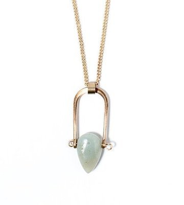 Petrichor Necklace - Amazonite
