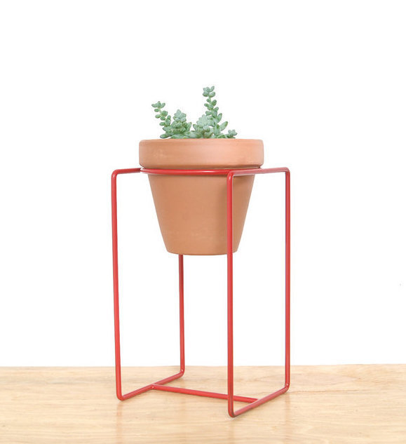 Desk Planter - Large Red