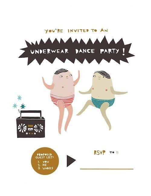 Underwear Dance Party