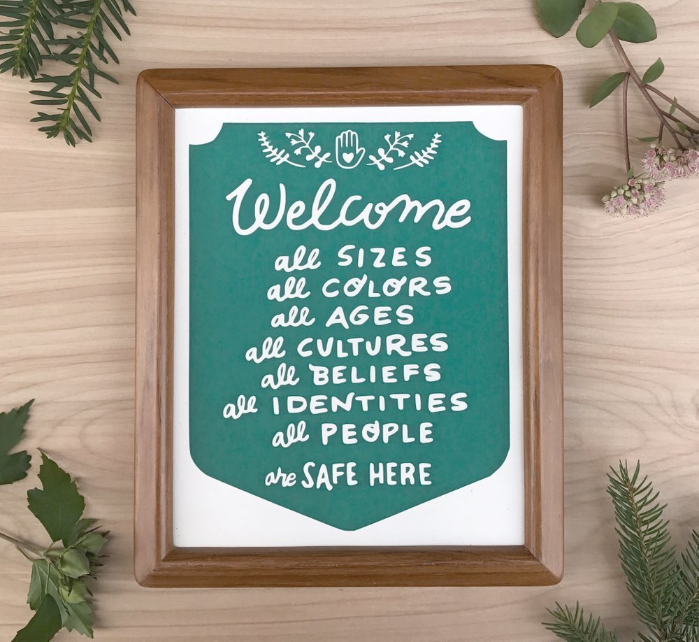 Welcome All - 8 x 10 Paper Print