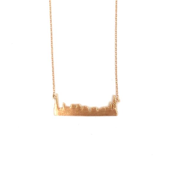 Skyline Rose Gold Plated Necklace