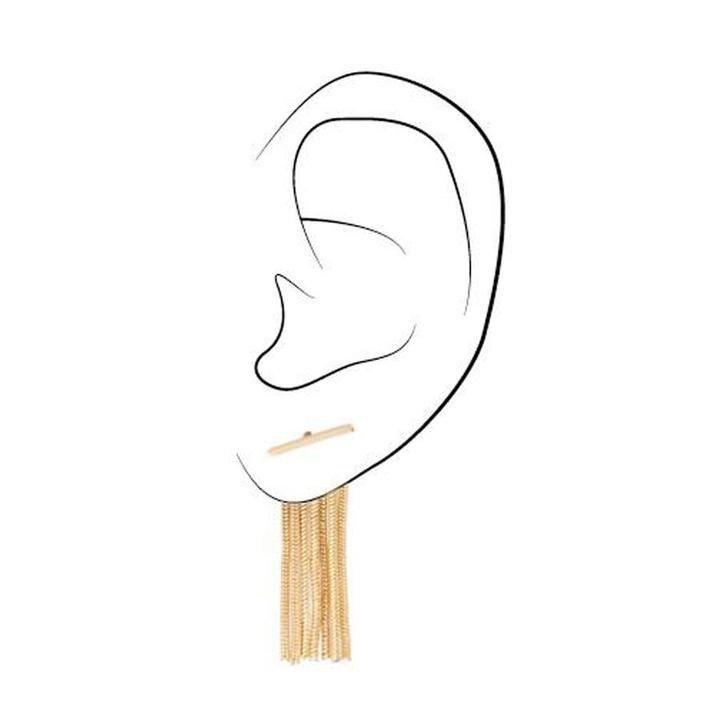 Bar Fringe Earrings