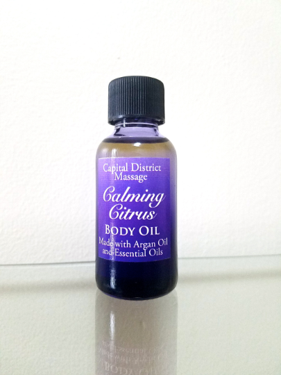 Calming Citrus Body Oil
