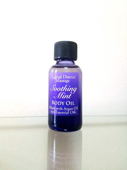 Soothing Mint Body Oil 00002