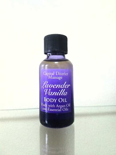 Lavender Vanilla Body Oil 00003