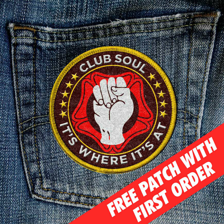 CLUB SOUL SEW-ON PATCH (Promotion)