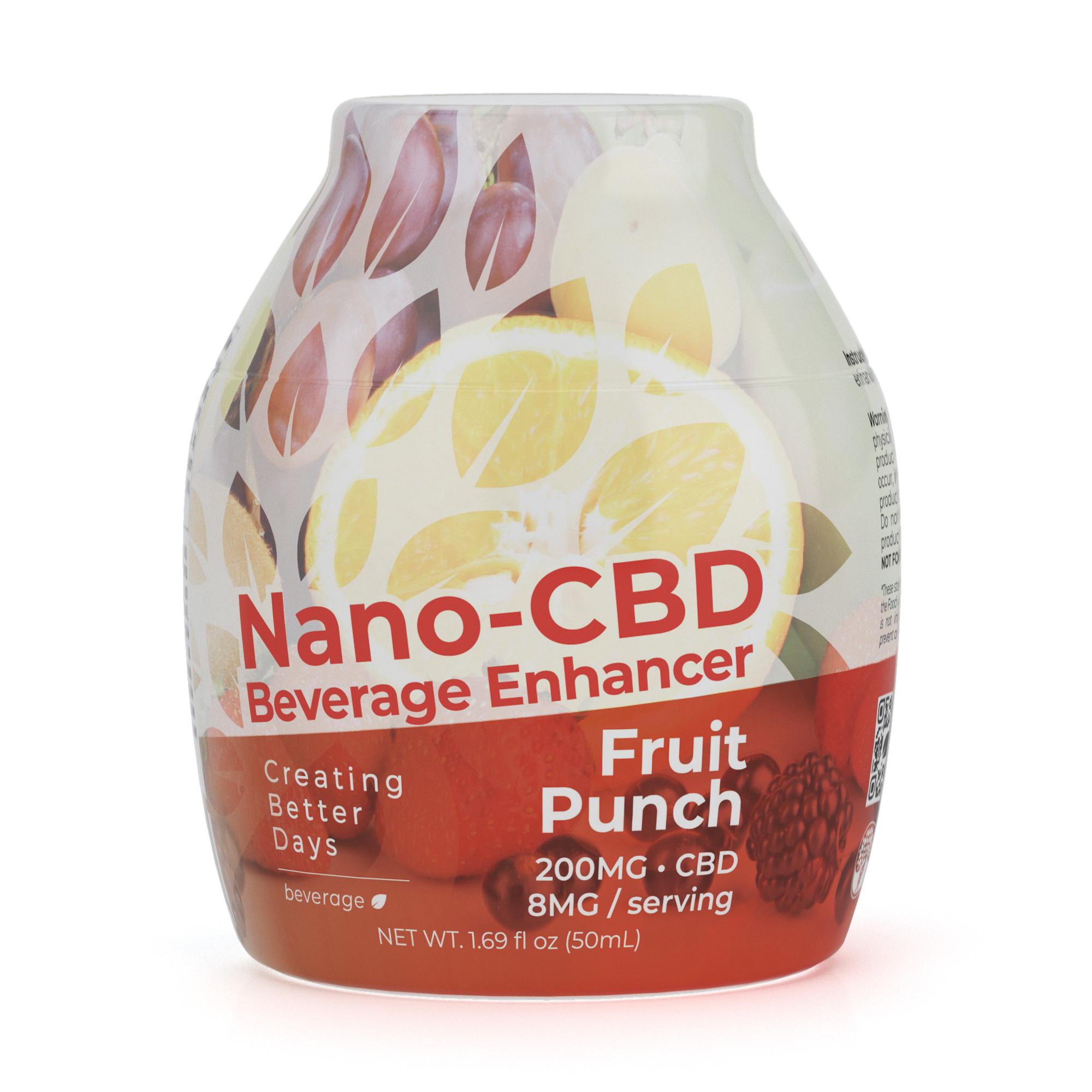 Nano-CBD Beverage Enhancer Fruit Punch 200MG 00060