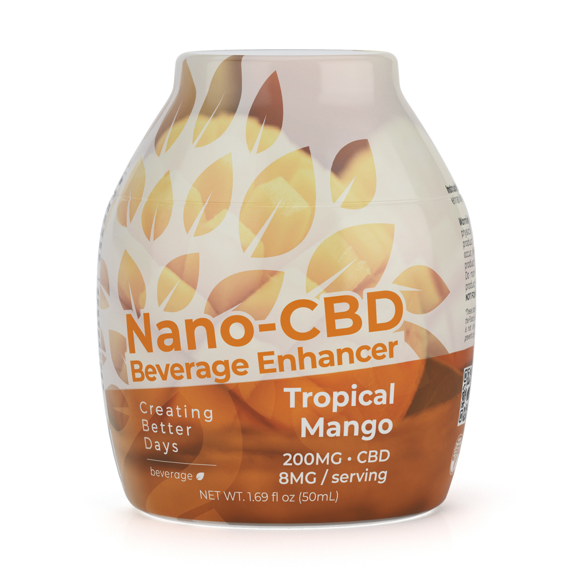 Nano-CBD Beverage Enhancer Tropical Mango 200MG 00058