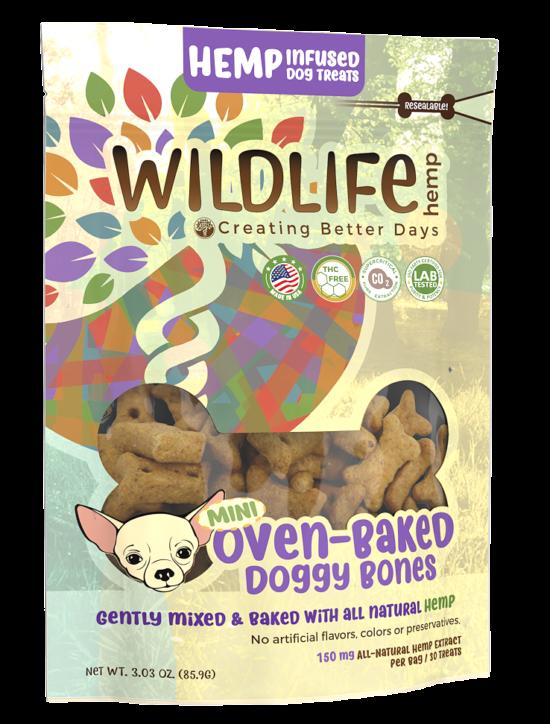 CBD Mini Dog Bone Treats 00043