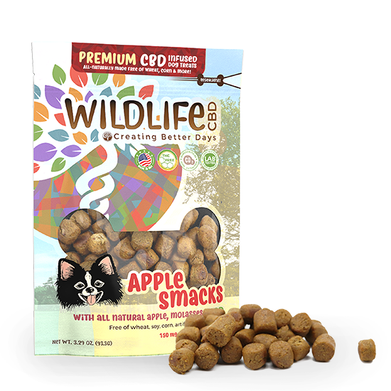CBD Apple Smacks Organic Treats 00045