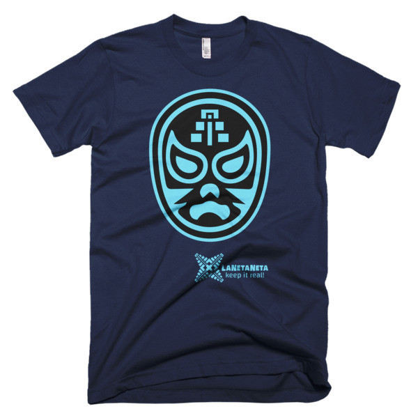 "Men's Fine Jersey, American Apparel T-Shirt. ""El Templar"" Lucha Libre Mask designed by LaNetaNeta. Free shipping + 15% discount code below!"