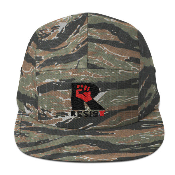 """RESIST,"" Yupoong 7005 5-Panel cap"