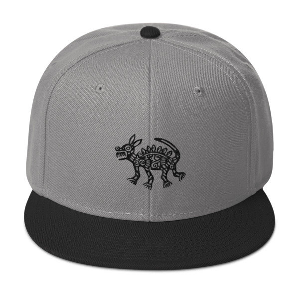 Aztec Dog Snapback Hat