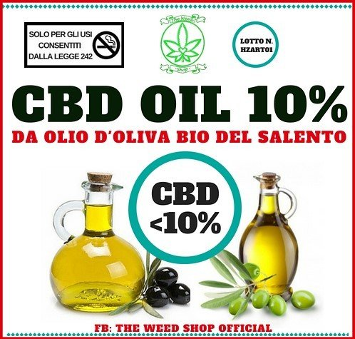 Cbd Olive Oil 5/10% 10ml