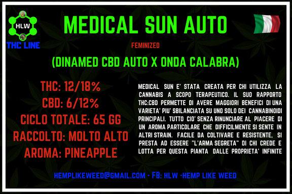Medical Sun Auto, 3 semi femminizzati da collezione