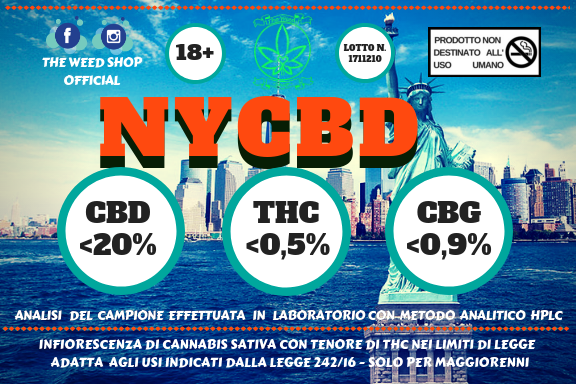 NYCBD (Fragolina)