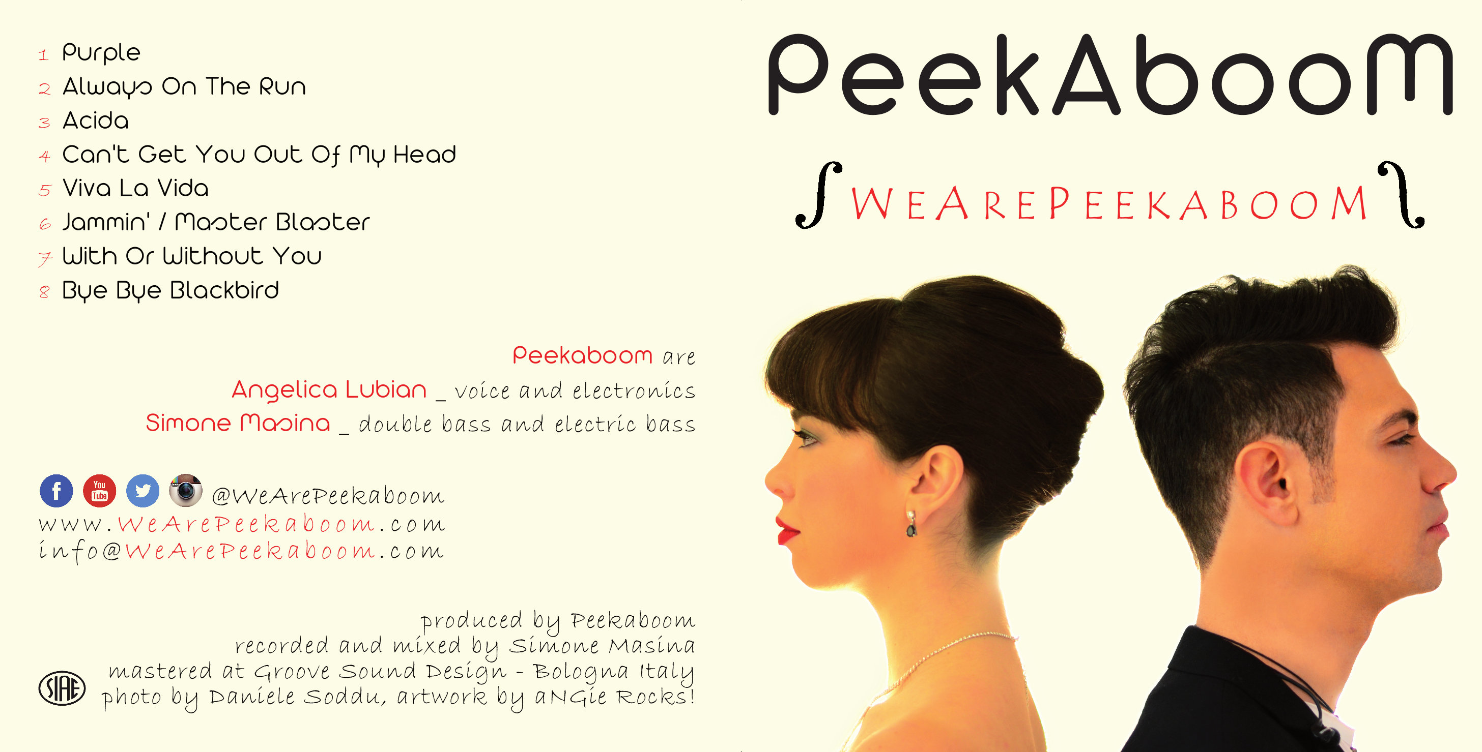 We Are Peekaboom - Signed CD