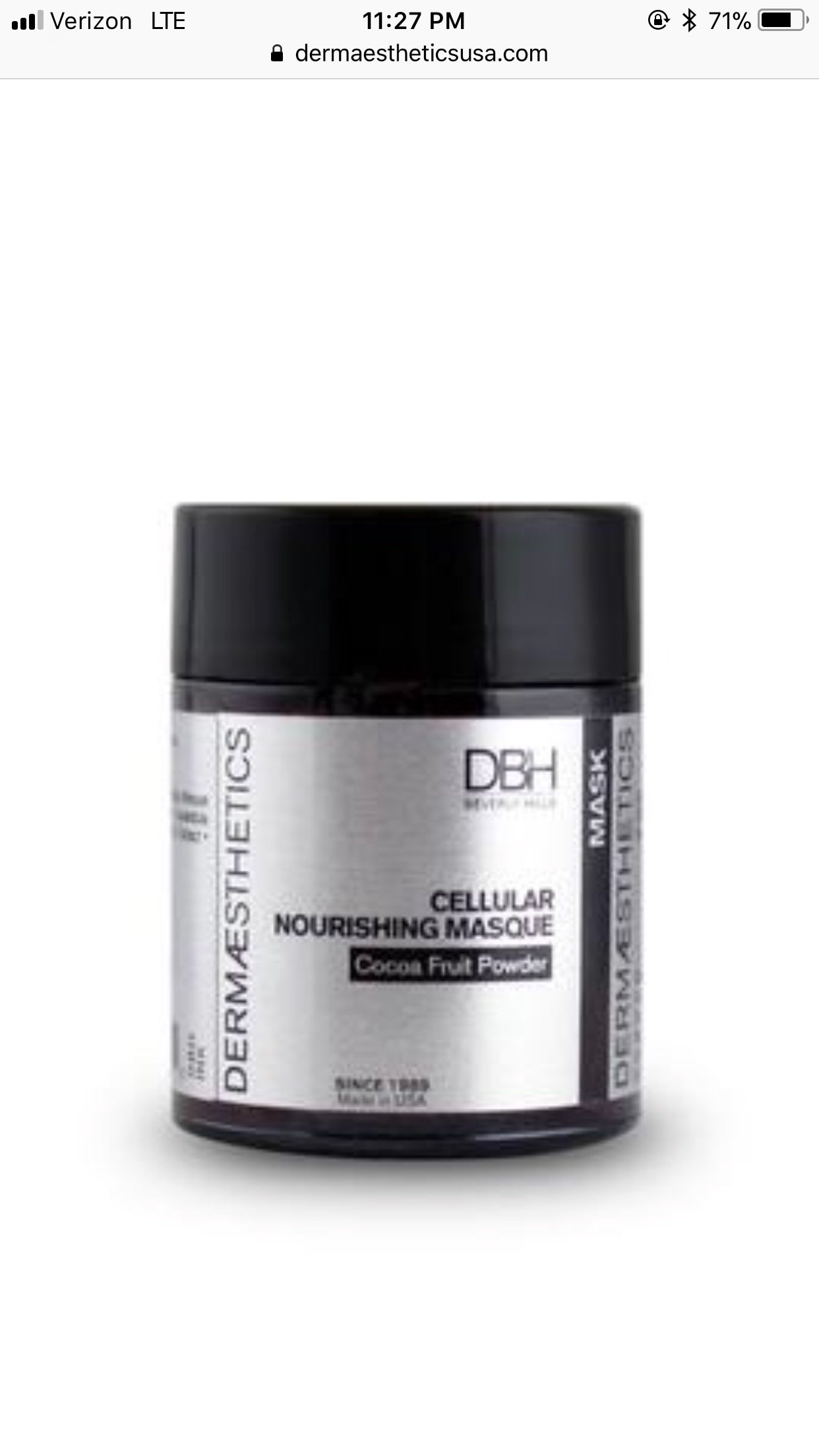 Cellular Nourishing Masque 00007