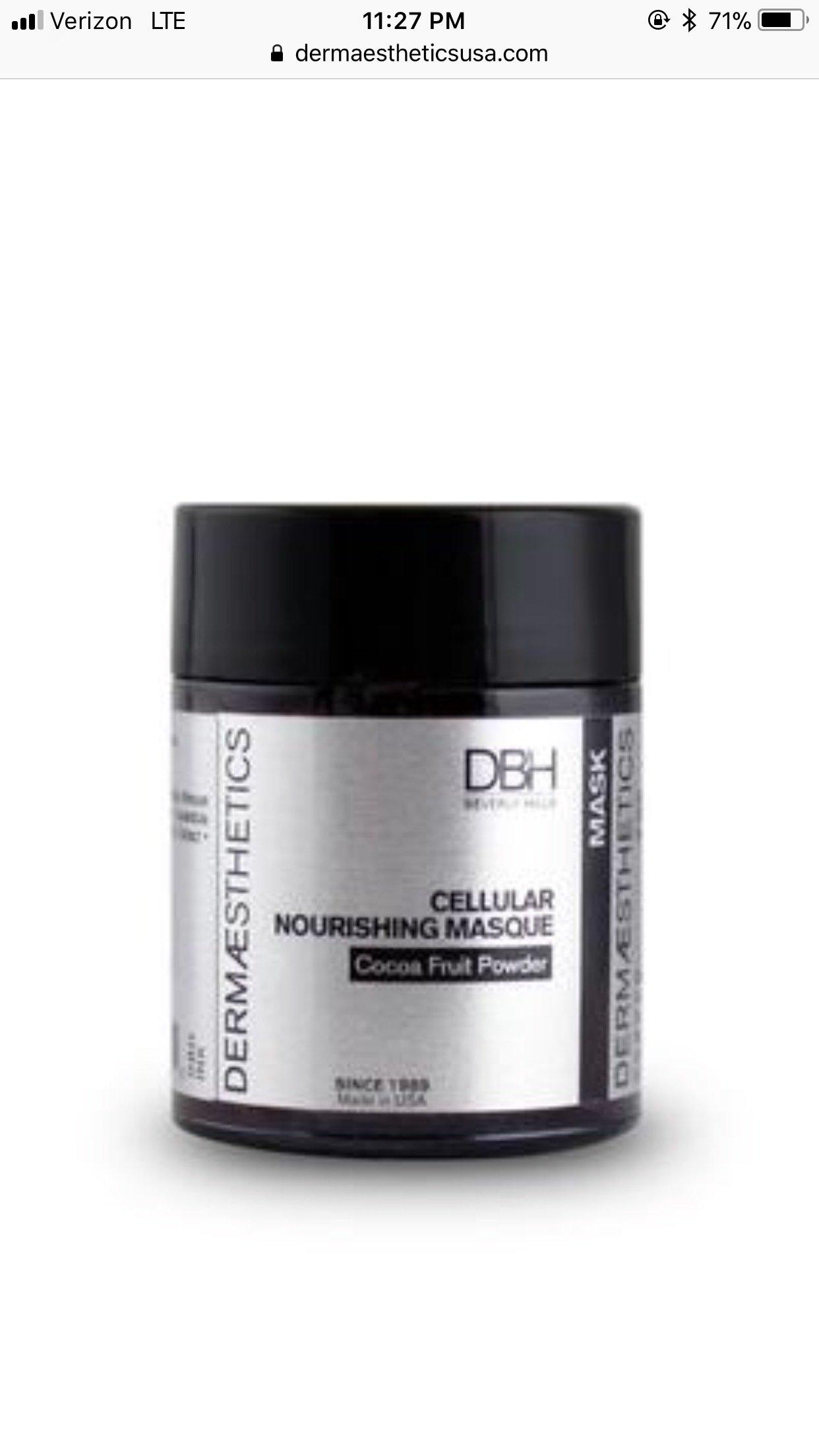 Cellular Nourishing Masque 00007